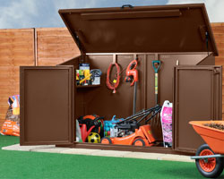 Asgard Access metal garden shed 7x4 from Gardien | garden security & Asgard Access metal garden shed 7x4