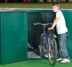 Asgard Bike Locker from Gardien | garden security