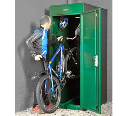 Asgard Vertical Bike Locker from Gardien | garden security