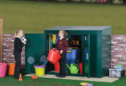 schools offer 5 - addition shed