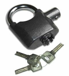 Shed alarm and Padlock in One