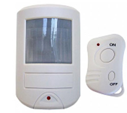 Standalone Wireless Motion Sensor Burglar Alarm